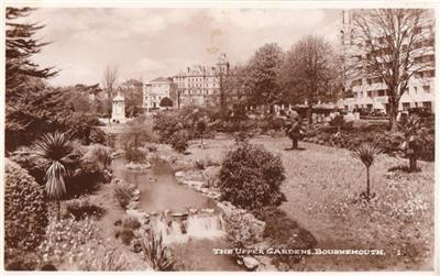 Bournemouth - Upper Gardens - Real Photo