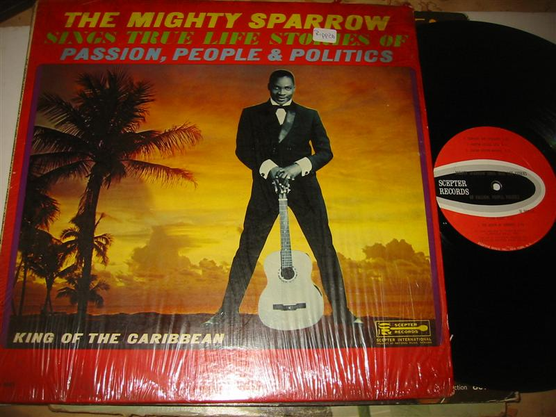 MIGHTY SPARROW - TRUE LIFE STORIES - SCEPTER 1283