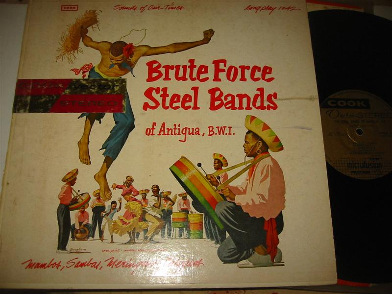 BRUTE FORCE STEEL BANDS - COOK RECORDS 1298