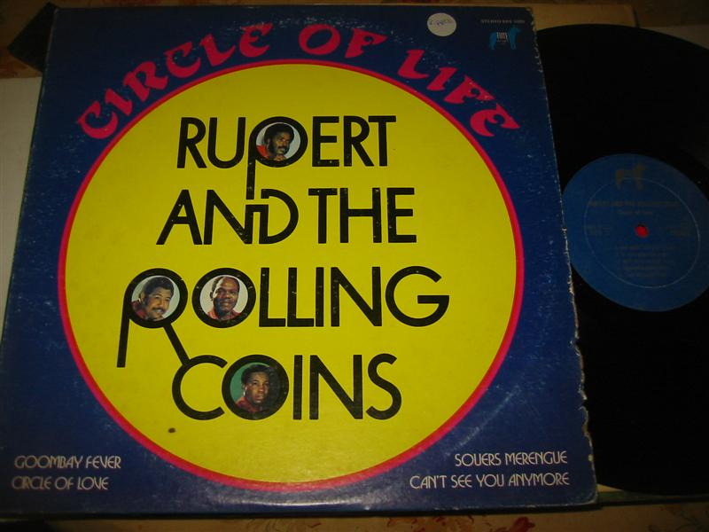 RUPERT & ROLLING COINS - CIRCLE OF LIFE - ELITE 1291