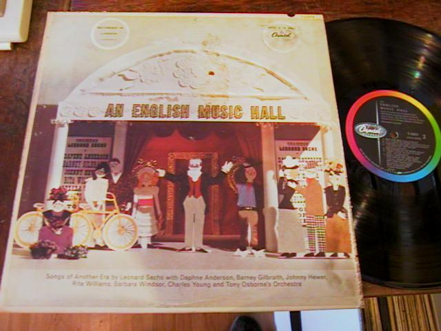 VARIOUS ARTISTS - ENGLISH MUSIC HALL - CAPITOL