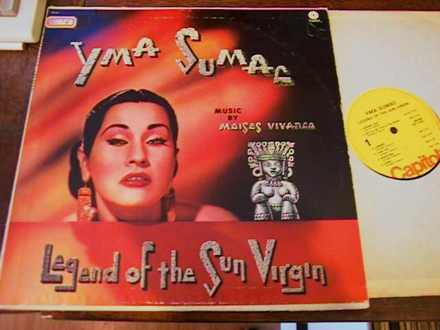 YMA SUMAC - LEGEND SUN VIRGIN - CAPITOL - CP 27
