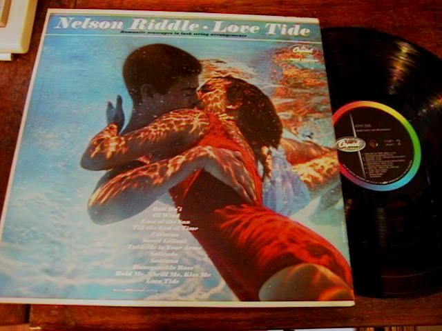 NELSON RIDDLE - LOVE TIDE - CAPITOL
