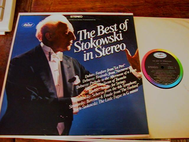 STOKOWSKI - THE BEST OF - CAPITOL