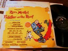 FIDDLER ON THE ROOF - MOSTEL - RCA RECORDS STEREO