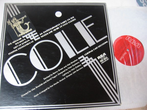 COLE - ORIGINAL CAST - RCA UK BOX SET { 391