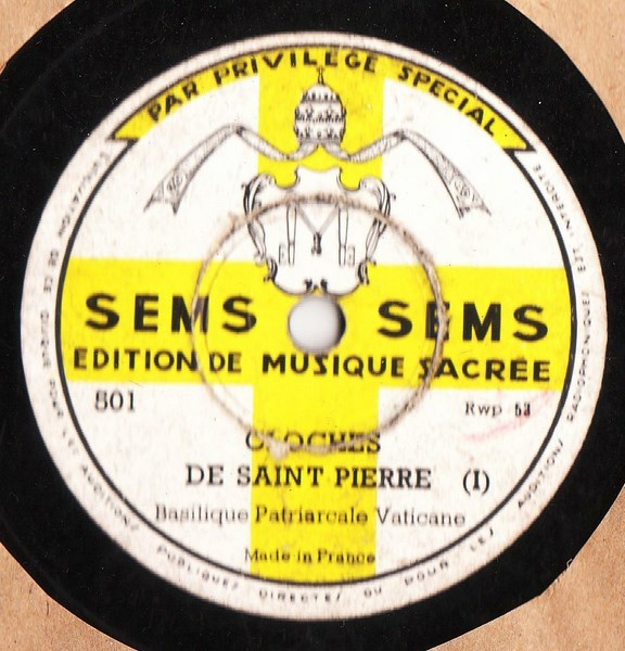 Sems Label 78's French Pressing