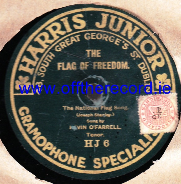 Harris Junior Record Lable 78's