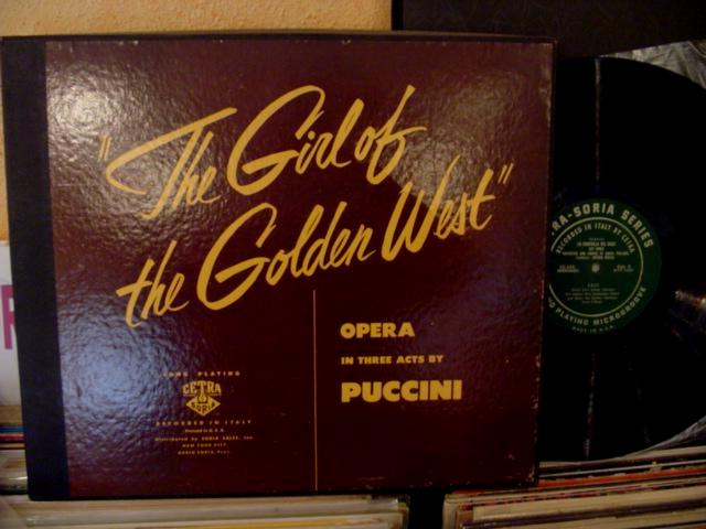 PUCCINI -GIRL OF GOLDEN WEST - BASILE GAVAZZI - CETRA