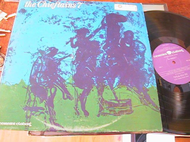 THE CHIEFTAINS - 7 - CLADAIGH RECORDS 1977
