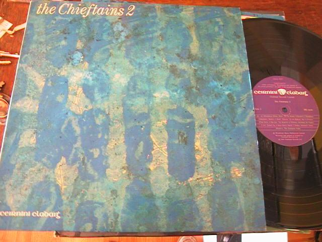 THE CHIEFTAINS - 2 - CLADAIGH RECORDS 1969