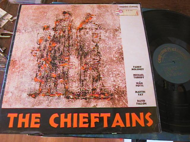 THE CHIEFTAINS - FIRST LP - CLADAIGH RECORDS 1973