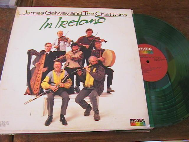 THE CHIEFTAINS - JAMES GALWAY - RCA RECORDS 1987