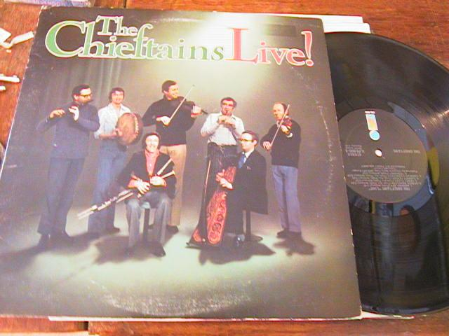 THE CHIEFTAINS - LIVE - ISLAND RECORDS 1977