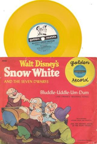 SNOW WHITE - GOLDEN RECORDS - # 62 - 78 RPM