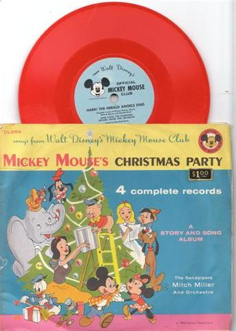 CHRISTMAS PARTY - MICKEY MOUSE RECORDS