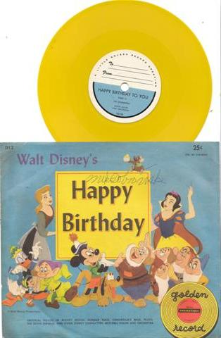 HAPPY BIRTHDAY - GOLDEN RECORDS