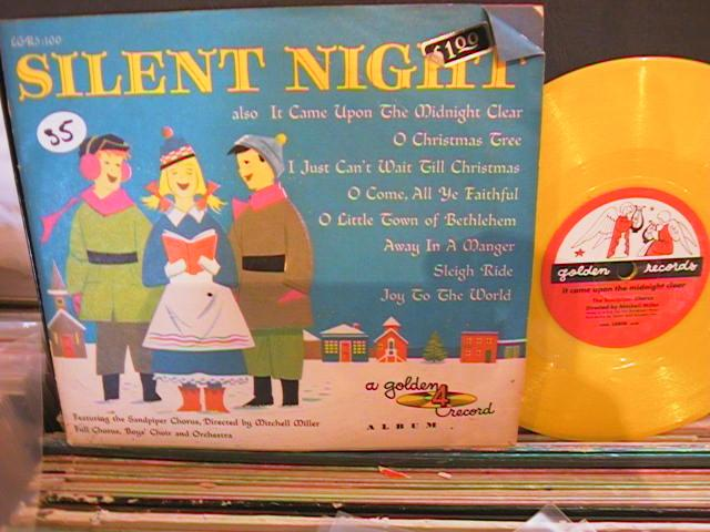 SILENT NIGHT 4 RECORDS - GOLDEN RECORDS 53