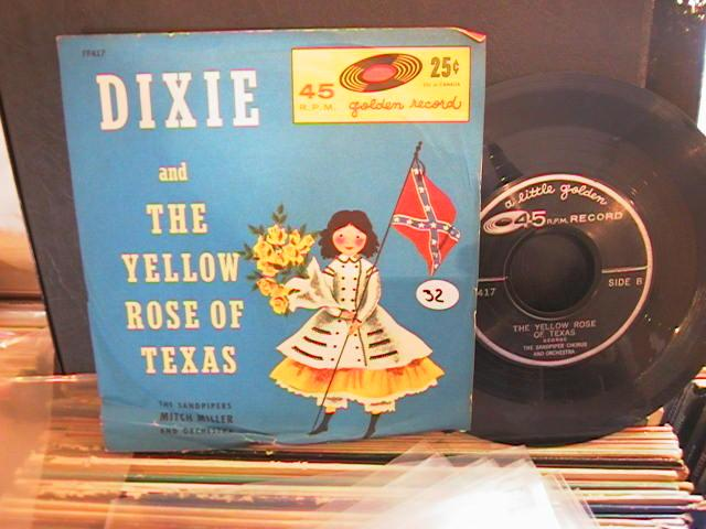 DIXIE , YELLOW ROSE TEXAS - GOLDEN RECORDS 54