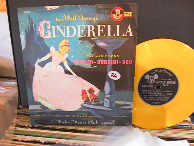 CINDERELLA - MICKEY MOUSE RECORDS # 27