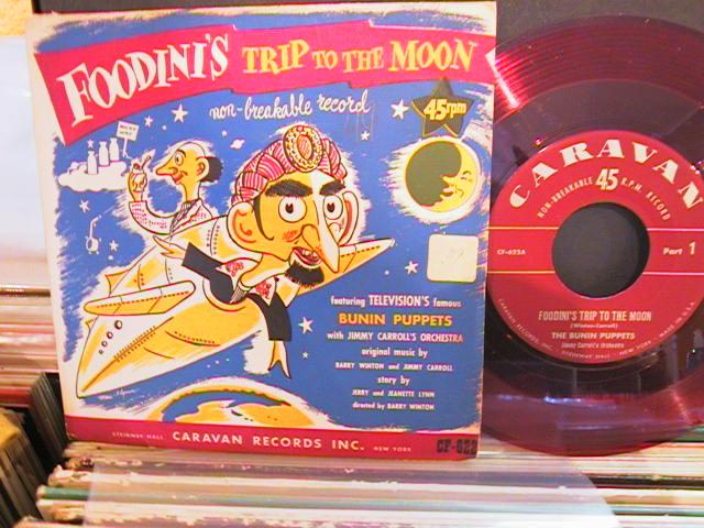 FOODINIS TRIP TO MOON - CARAVAN RECORDS