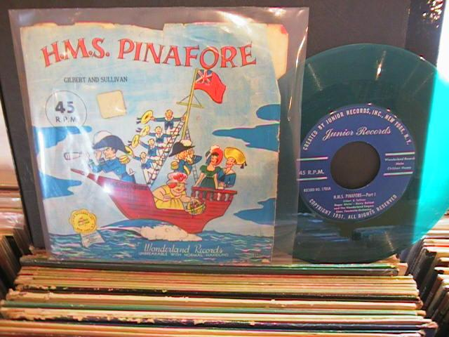 H.M.S. PINAFORE- WONDERLAND RECORDS # 34