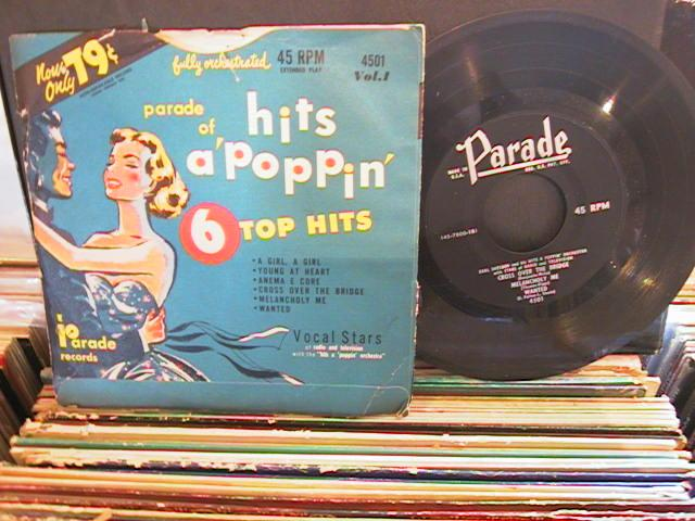 HITS A POPPIN - PARADE RECORDS # 33