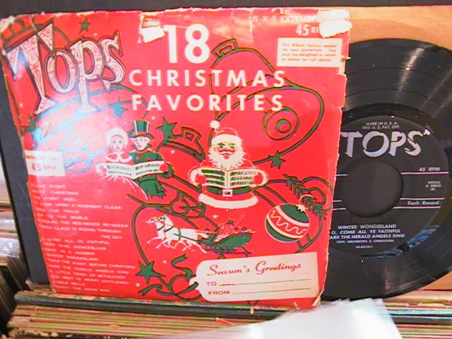 18 CHRISTMAS FAVOURITES - TOPS RECORDS # 32