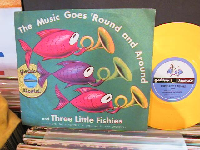 MUSIC GOES ROUND & ROUND- GOLDEN RECORDS # 44