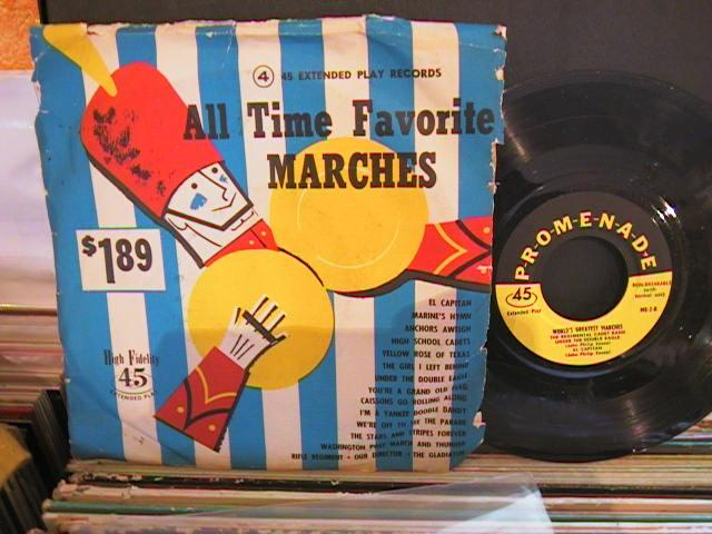 ALL TIME FAVOURITE MARCHES - PROMENADE RECORDS # 43