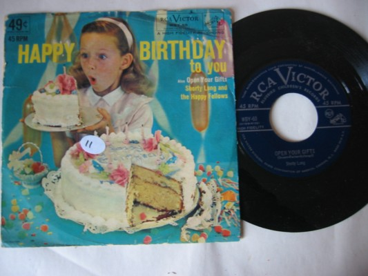 HAPPY BIRTHDAY - RCA RECORDS # 11