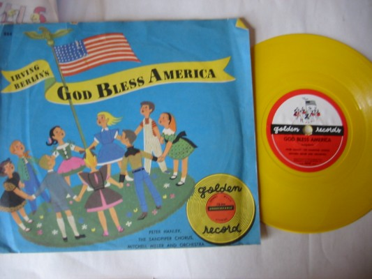 GOD BLESS AMERICA - GOLDEN RECORDS # 22