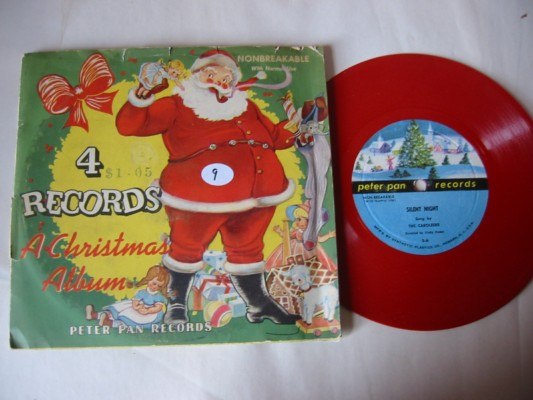 A CHRISTMAS ALBUM - PETER PAN RECORDS # 9 4 discs