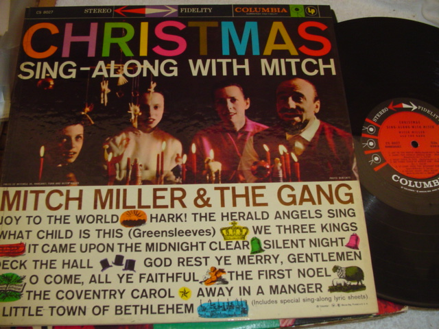 MITCH MILLER - CHRISTMAS SING ALONG - COLUMBIA { CH 59