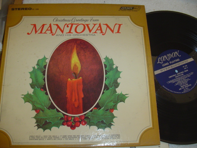 MANTOVANI - CHRISTMAS GREETINGS - LONDON { CH 50