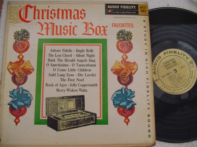 CHRISTMAS MUSIC BOX - AUDIO FIDELITY { CH 47