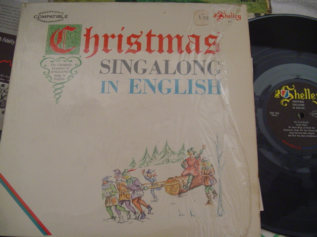 CHRISTMAS SING ALONG IN ENGLISH - SHELLY RECORDS [ CH 44