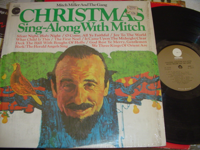 MITCH MILLER - CHRISTMAS SIN ALONG - COLUMBIA { CH 43