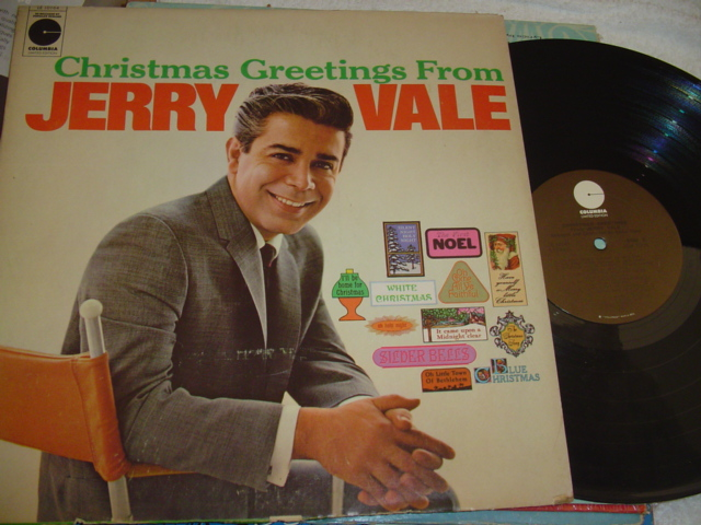 JERRY VALE - CHRISTMAS GREETINGS - COLUMBIA [ CH 35