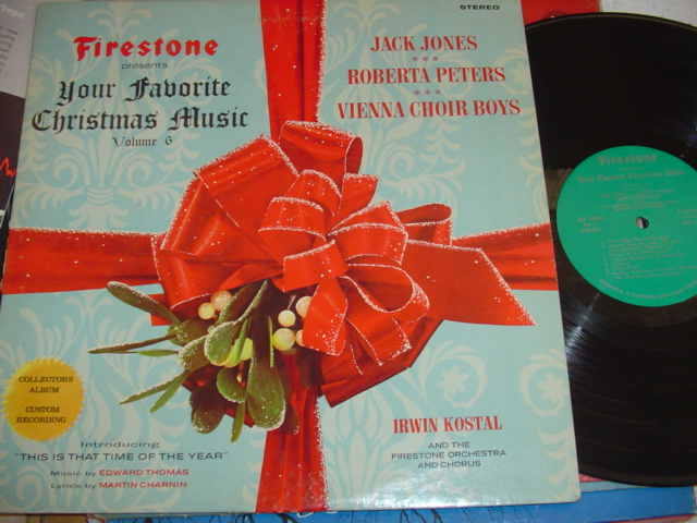 FAVORITE CHRISTMAS MUSIC - JONES , PETERS ,VIENNA BOYS { CH 34