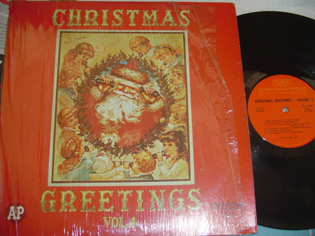 VARIOUS ARTISTS - CHRISTMAS GREETINGS - COLUMBIA { CH 33