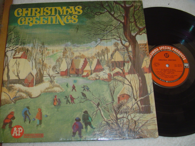VARIOUS ARTISTS - CHRISTMAS GREETINGS - COLUMBIA { CH 30
