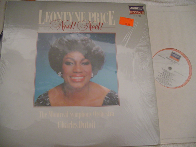 LEONTYNE PRICE - NOEL NOEL - LONDON DIGITAL { CH 24