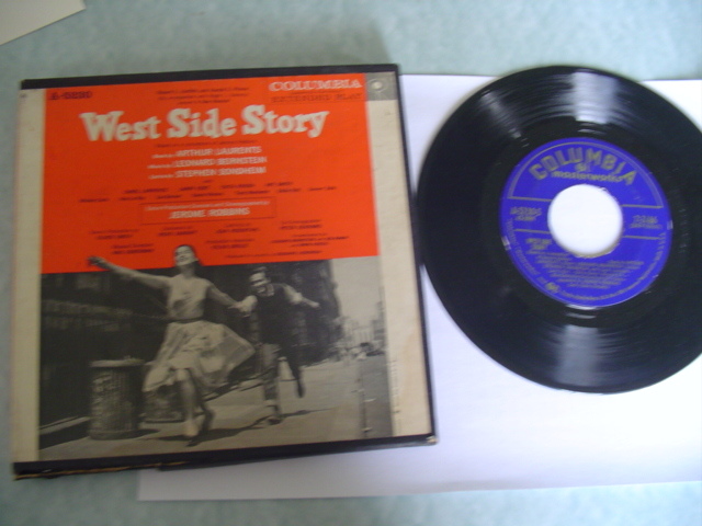 WEST SIDE STORY - 5 DISC BOX SET - COLUMBIA 7 inch