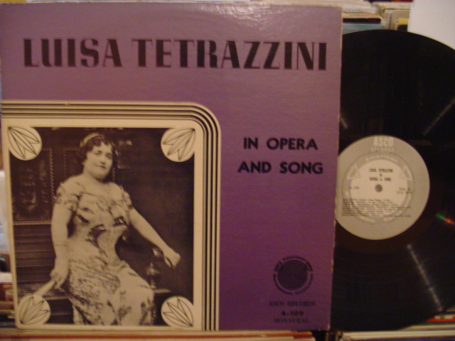 LUISA TETRAZZINI - IN OPERA & SONG - 2 LP ASCO - FV 72