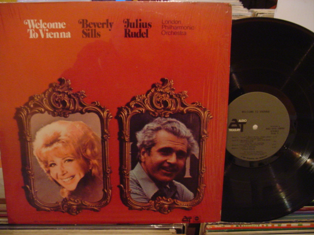 BEVERLY SILLS - WELCOME TO VIENNA - ABC - FV 61