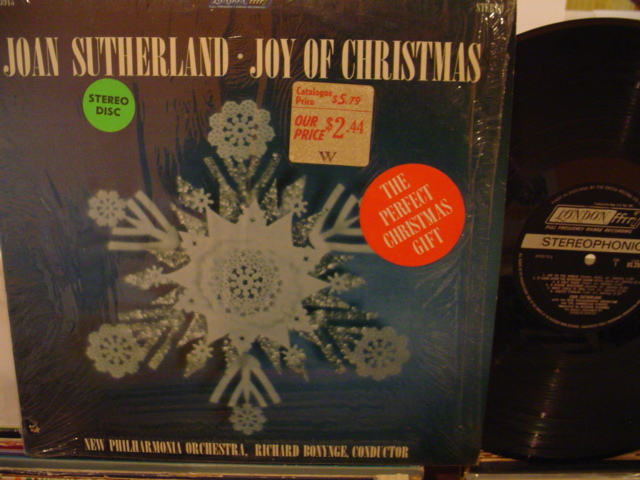 JOAN SUTHERLAND - JOY OF CHRISTMAS - LONDON - FV