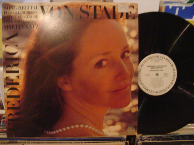 FREDERICA VON STADE - PURCELL DEBUSSY - PROMO COLUMBIA - FV 44
