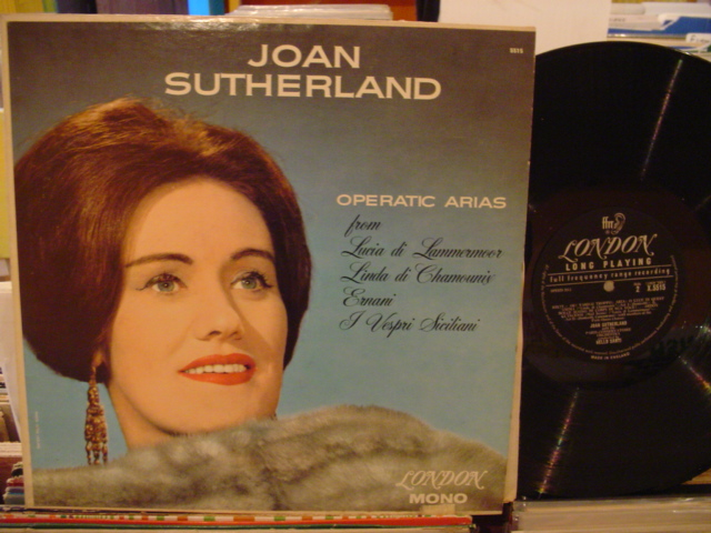 JOAN SUTHERLAND - OPERATIC ARIAS - LONDON - FV 39