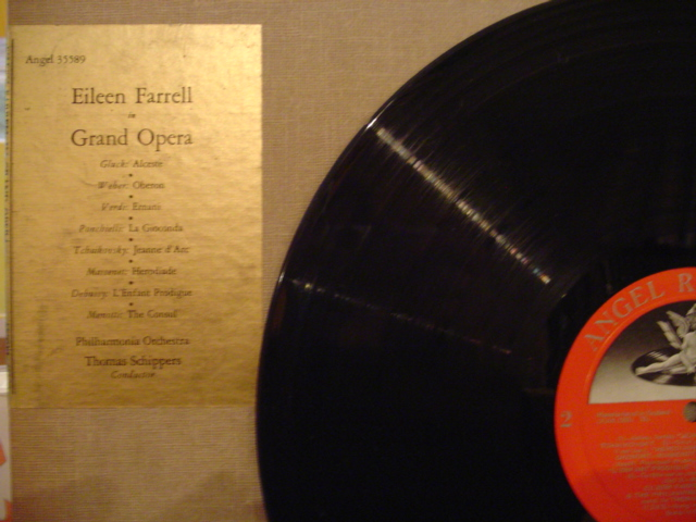 EILEEN FARRELL - GRAND OPERA - ANGEL - FV 8